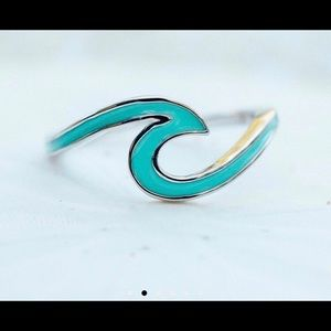 Pura Vida Wave Toe Ring